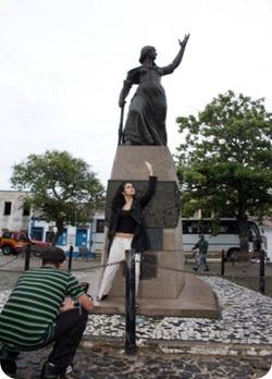 Nanda Costa, Anita Garibaldi na República em Laguna - Minha Laguna!