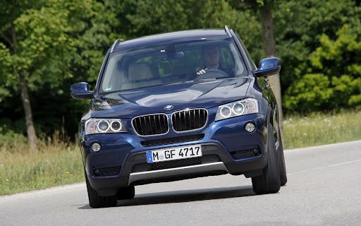 The BMW X3 (08/2011)