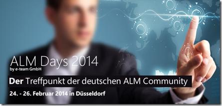 ALM Days 2014
