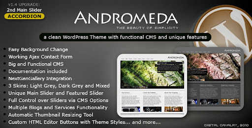 Andromeda WordPress - The Beauty of Simplicity - Business Corporate