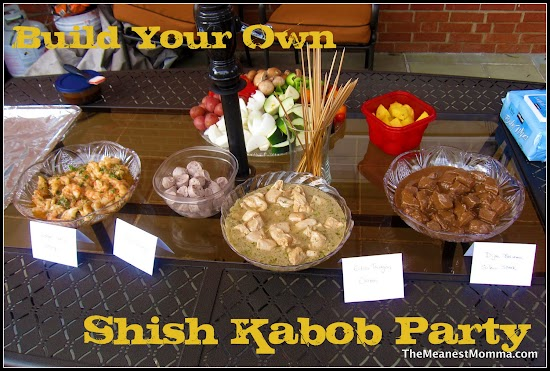 A Shish Kabob Party Fit for a Caveman