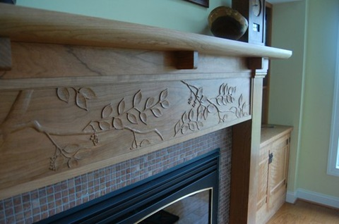 asian-and-arts-and-crafts-style-fireplace-mantel