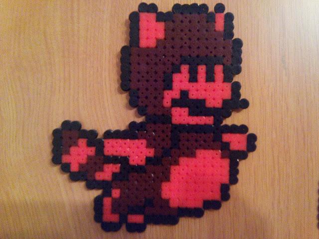 Mario mapache de Super Mario Bross 3