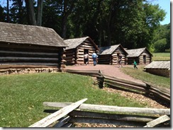 Guard Huts for Washington's Guarde At Valley Forge