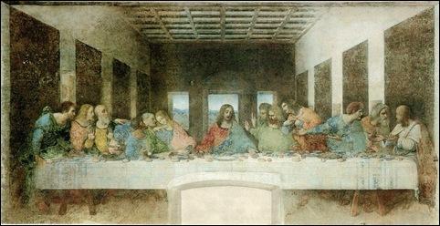 Leonard de Vinci, La Cène
