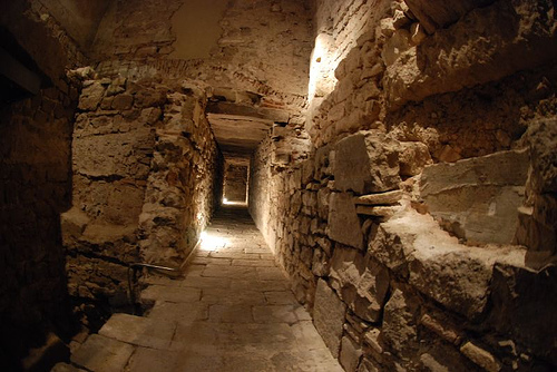 The Museum of History of the City hides a roman underground world. Http://www.foreverbarcelona.com