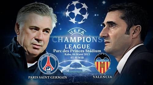 Prediksi Pertandingan PSG vs Valencia