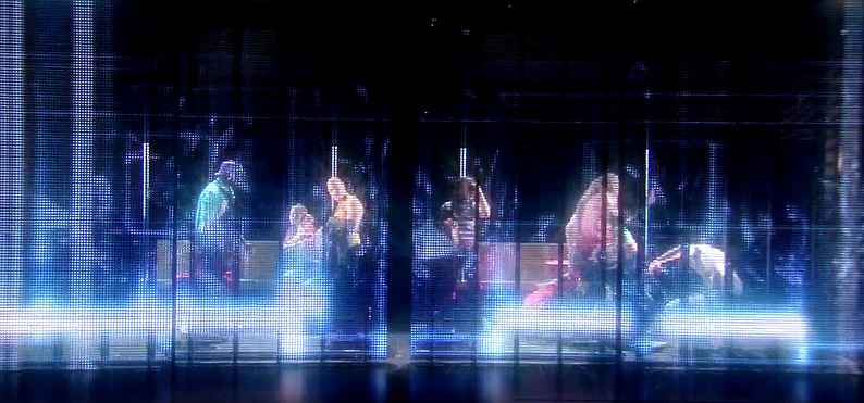 Ghost, the Musical: Stage Design