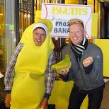 frozen bananas in Toronto, Ontario, Canada