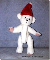 White Christmas Bear.