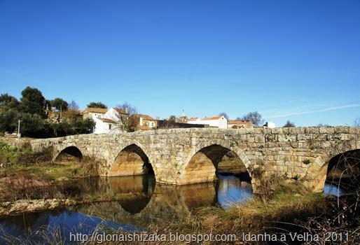 Portugal - Idanha a Velha - ponte de origem romana - Glória Ishizaka
