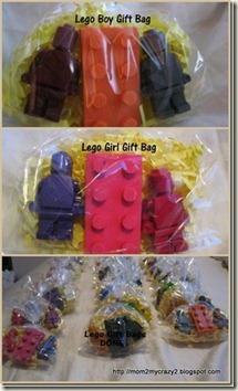 Lego Gift Bags