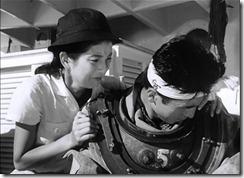 Gojira Emiko and Ogata Mourn