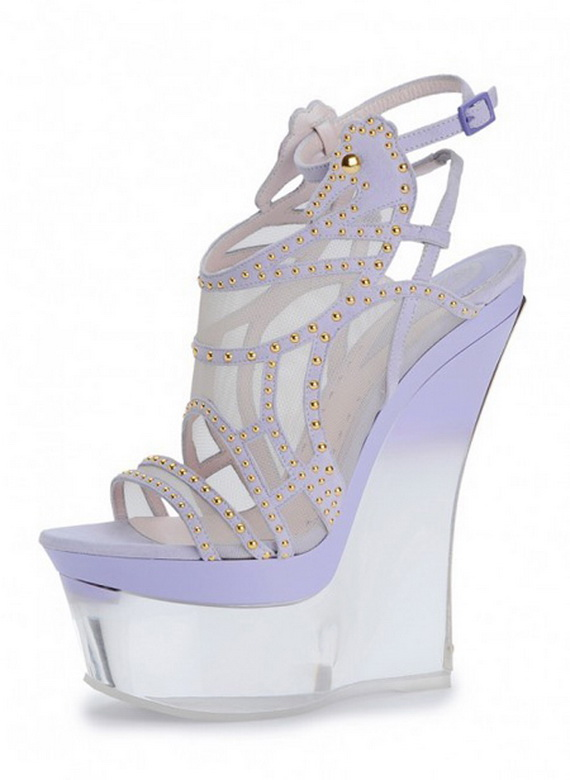 Versace Wedding Shoes Sea-themed Versace Shoes For