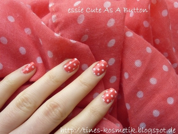 essie Cute As A Button Stamping 2
