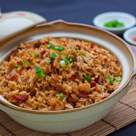 Claypot Fried Rice by CelestialDelish ツ - Food & Drink Cooking & Baking ( rice, claypot, food photography, cooking, plating )