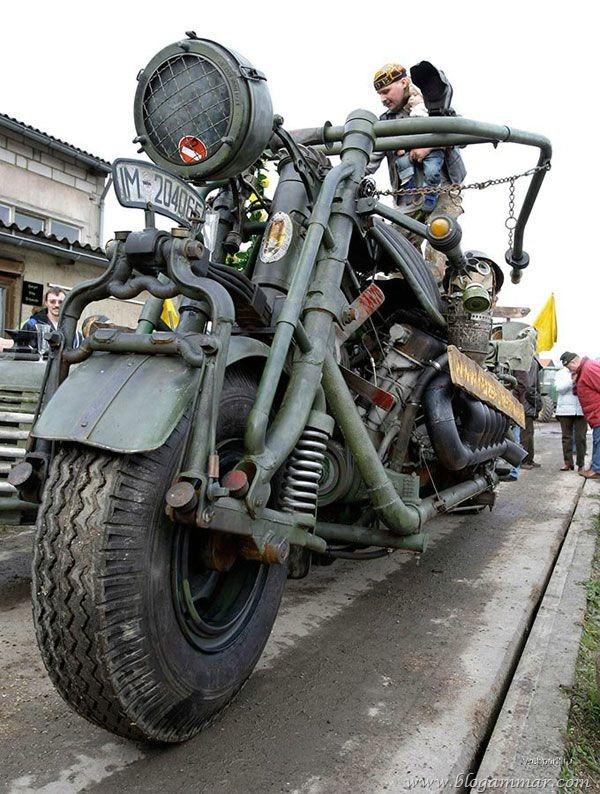Motosikal terbesar di dunia