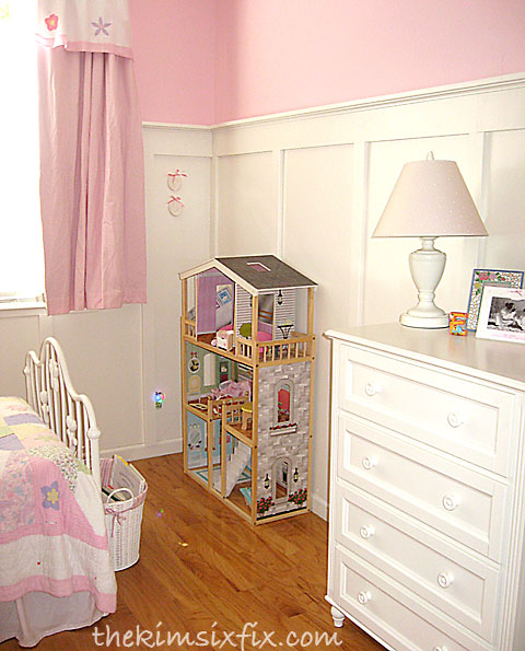 Board and batten girls room
