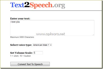 เวบไซต์ให้บริการอักษรเป็นเสียง