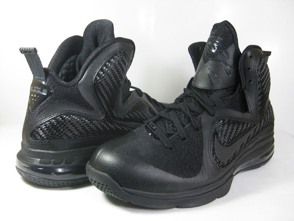 Releasing Now Nike LeBron 9 8220BlackBlackAnthracite8221