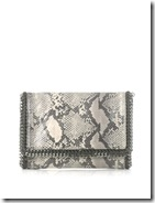 Stella McCartney Faux Python Clutch