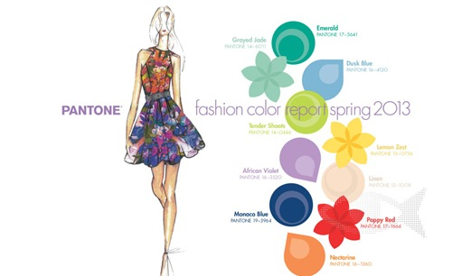 Pantone Color Institute Has Released its Color Report For Spring2013