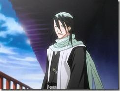 Bleach 20 Byakuya Unamused