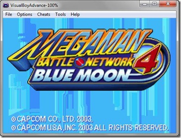 Download GBA Megaman Battle Network 4 Blue Moon English for PC (Emulator + Rom)