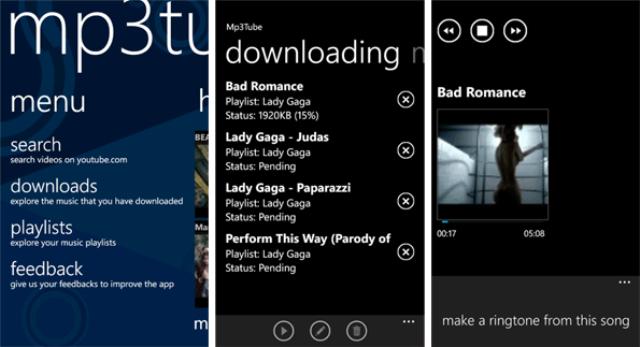 Free MP3 Music para Windows Phone