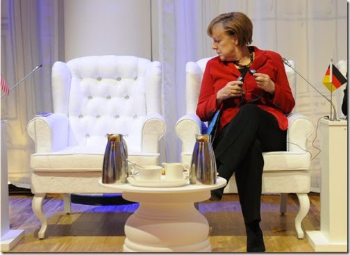 angela consults with Obama re. nuclear war