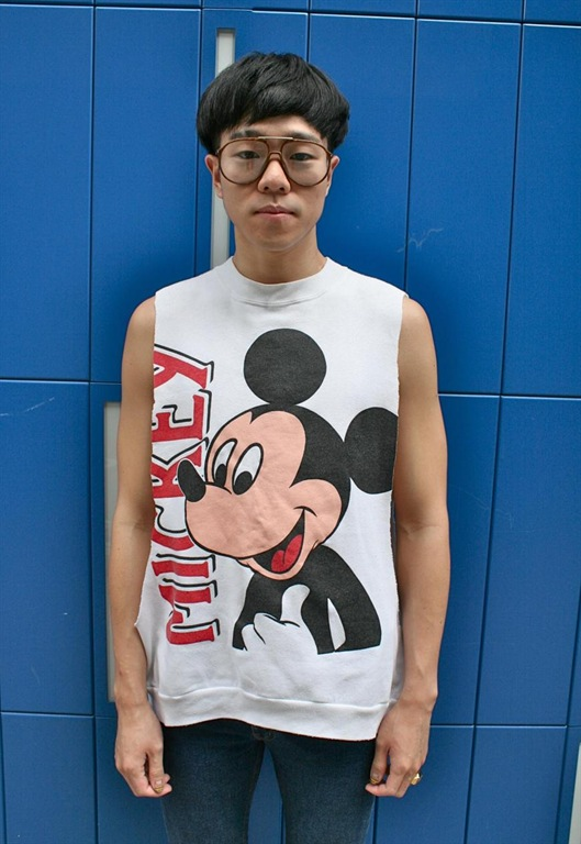 Sleeveless Vintage Mickey Mouse Sweater, £19.99, Burger & Fries