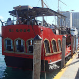 miami harbor boat cruise on a pirate ship in Miami, Florida, United States