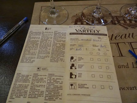 Drumul vinului -Basarabia: Note de degustare la Chateau Vartely