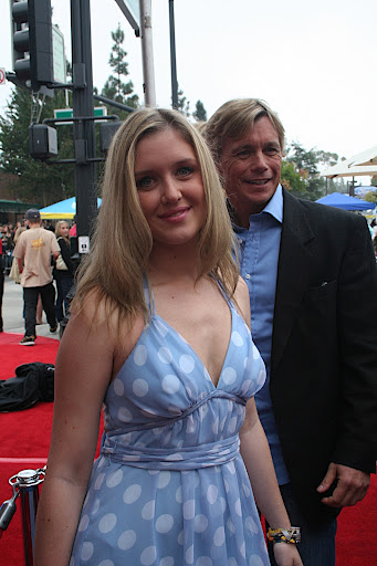 Christopher Atkins and his daughter, on the red carpet at the 62nd Annual Mother Goose Parade in San Diego County. All Rights Mother Goose Parade / Popular Press Media Group (PPMG) - media@ppmg.info.  For more... http://www.MotherGooseParade.org