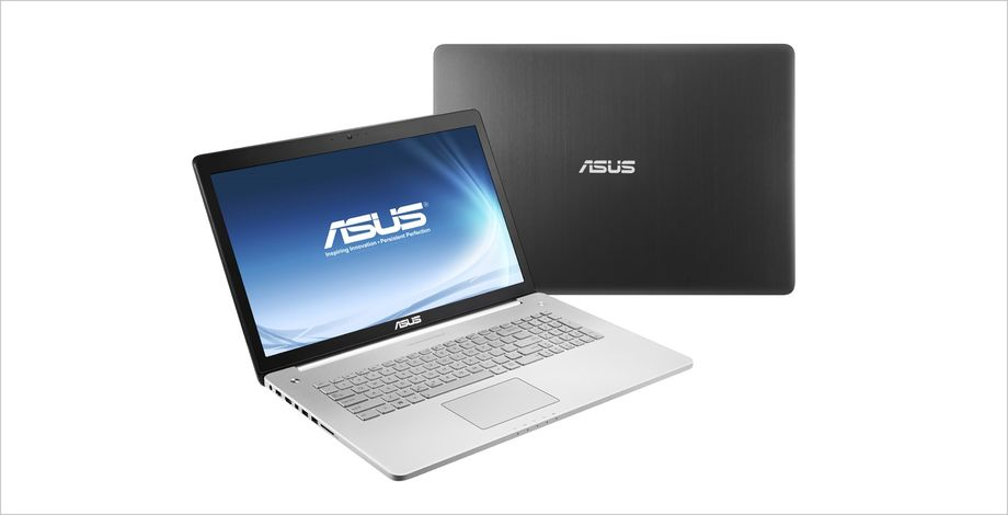 ASUS N750 potente notebook con display da 17 pollici