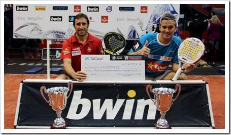Navarro-Reiter y Lamperti-Grabiel Campeones en el Bwin PPT Valencia 2012.