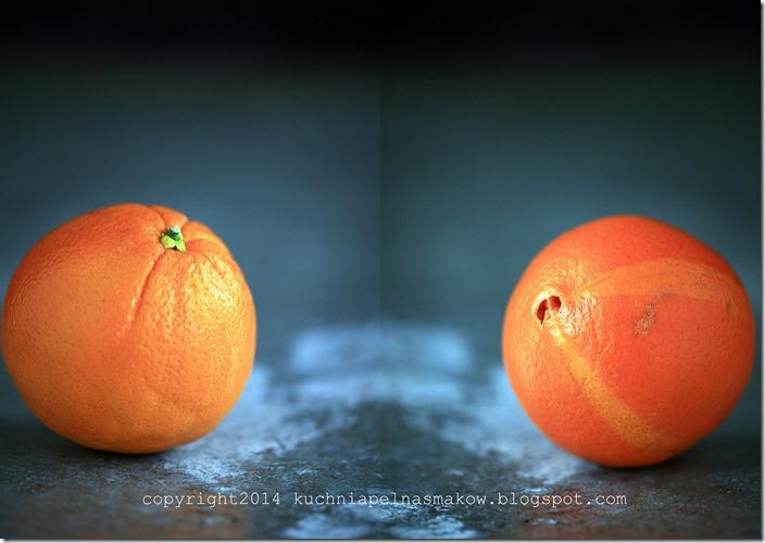 ciasto pomarańćzowe z olejem kokosowym