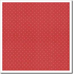 Linha Basic - Estrelas Pequenas (Vermelho)