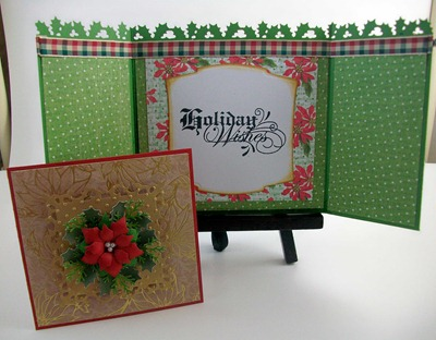Holiday Wishes Gatefold Card1