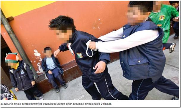 Bullying en Bolivia