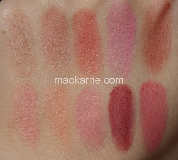 c_ProLongwearBlushBlushStandardsortiment2015MACSwatches3