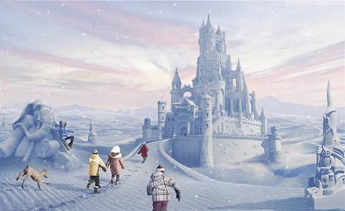 32. Crear una ciudad de hielo