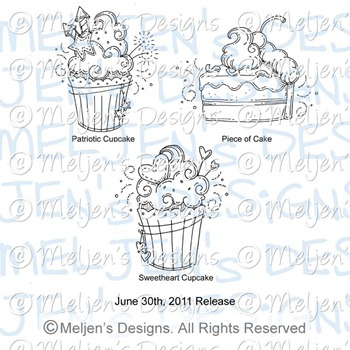 Meljens Designs June 30th Release Display