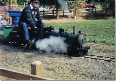 12 Pacific Northwest Live Steamers in 1998