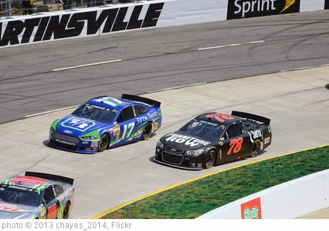 'Ricky Stenhouse, Jr. and Kurt Busch, 2013 STP Gas Booster 500' photo (c) 2013, chayes_2014 - license: https://creativecommons.org/licenses/by-sa/2.0/
