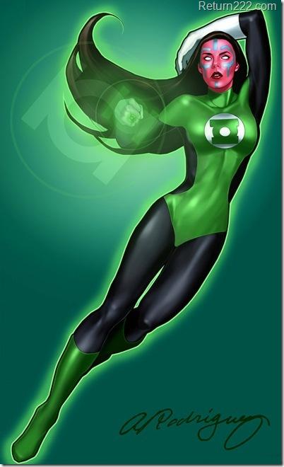 Green_Lantern_Iolande_by_aleciarodriguez