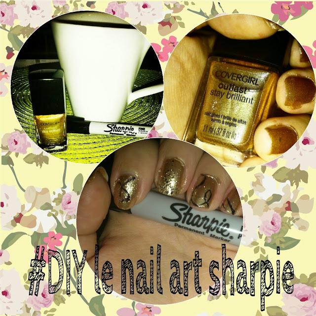 Le nail art avec un #sharpie #diy #MamanPG