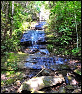 17e - Sunday - DeSoto Falls - the upper falls