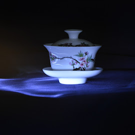 tea cup by Alice Chia - Abstract Light Painting