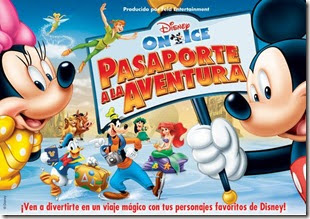 pasaporte a la aventura disney on ice en chile movistar arena